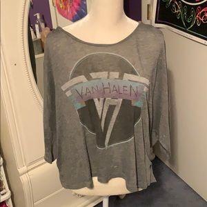 Van Halen Urban Outfitters knit tee-shirt